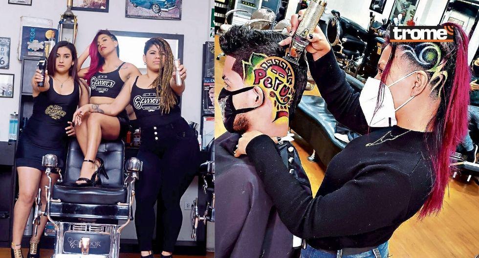 Mujeres barberas la rompen con cambios de look en tiempos de pandemia   FOTOS