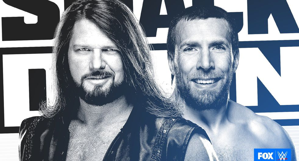 WWE SmackDown Daniel Bryan y AJ Styles tendrán intenso careo antes de su lucha de Backlashe