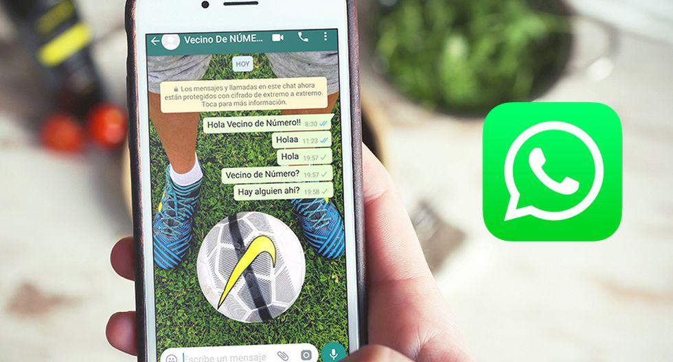 ¿Te ha escrito 'tu vecino de número' en WhatsApp? Si aún no lo hace, realiza estos pasos para proteger tu cuenta. (Foto: WhatsApp)