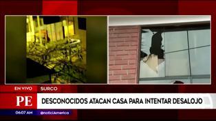Surco: ancianos denuncian violento desalojo por desconocidos