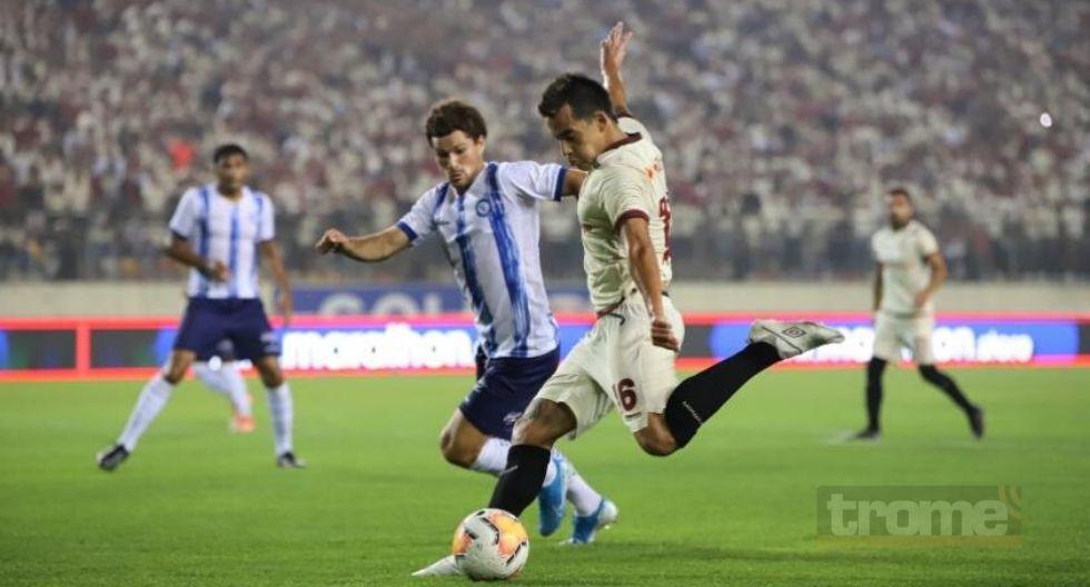 Once de Universitario frente a Cerro Porteño 5.- Iván Santillán