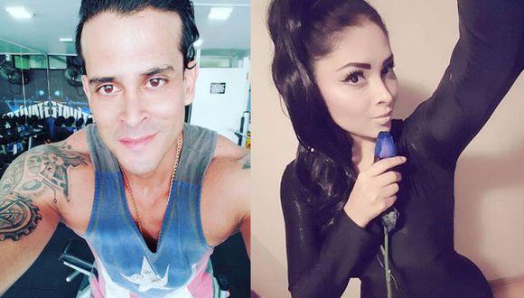 Christian Domínguez y Pamela Franco (Instagram)