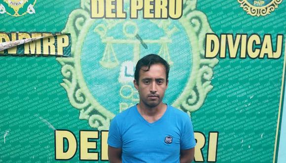 Iquitos. Rodolfo Rodríguez quedó a disposición de la Depincri de Iquitos. (GEC)