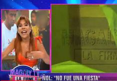 ¿Quién es la misteriosa que estuvo en la reunión con Ñol Solano? Magaly Medina lanzó estas pistas