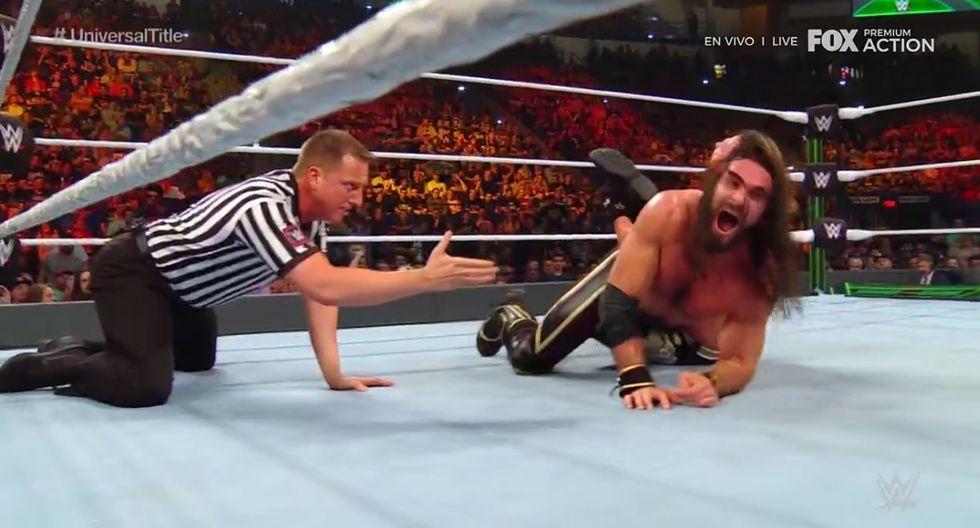 Fue una gran batalla la que ofrecieron Seth Rollins y AJ Styles. (WWE)