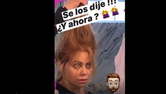 Rodrigo González parece haber olvidado que estamos en una pandemia y se burla de Gisela porque no recurre al peluquero para cortarse el cabello.
