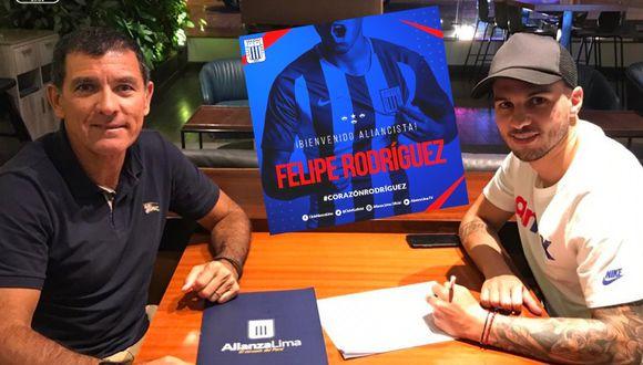 Felipe Rodríguez finalmente firmó contrato con Alianza Lima.