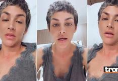 Anahí de Cárdenas fue internada de emergencia tras entrevista en programa de Mathías Brivio | VIDEO