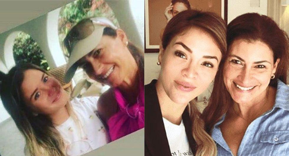 Flavia Laos presume su buena relación con mamá de Patricio Parodi tras foto con Sheyla Rojas
