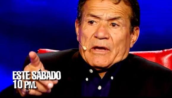 """Miguel Barraza se sentará en el sillón rojo de """"El valor de la verdad"""". (Foto: Captura Latina)"""