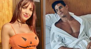 """Rosángela Espinoza sobre Facundo González: """"Él es muy cariñoso y mi enamorado solo puede ser así conmigo... no va dar besitos a todas"""""""