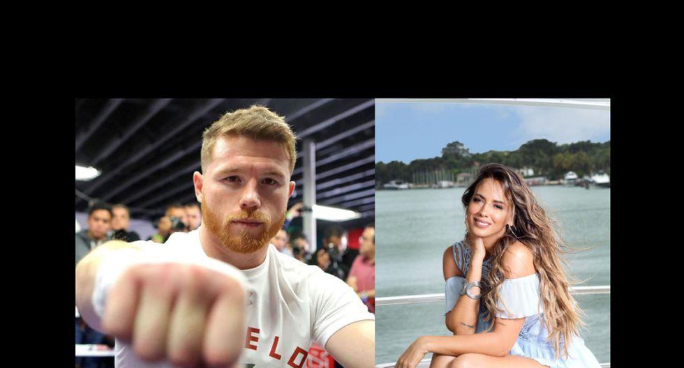 Shannon de Lima y 'Canelo' Álvarez estarían viviendo un tórrido romance. (Fotos: Instagram)