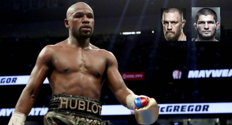 Tío de Mayeather dice que el boxeador podría vencer a los tipos de UFC hasta llegar a los 60 años. (Redes sociales)