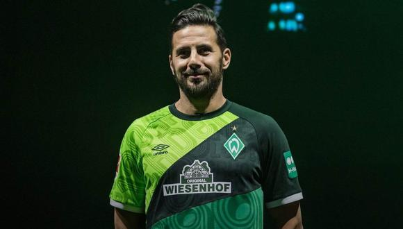 Werder Bremen recordó a Claudio Pizarro en redes sociales. (Foto: @werderbremen)