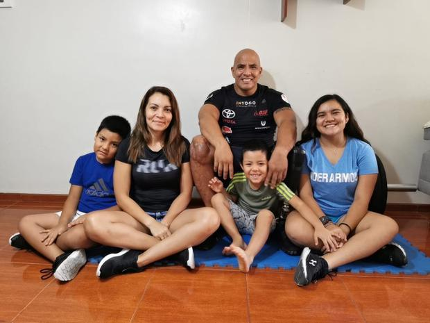 Carlos Felipa, capitán en retiro y paraatleta medallista en Lima 2019. (Foto: Carlos Felipa).