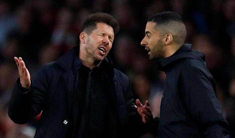 Diego Simeone fue suspendido 4 partidos y no estará en final de Europa League, Atlético Madrid vs Marsella