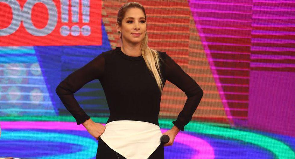 "Sofía Franco: ""Vania Bludau, no te avergüences""."