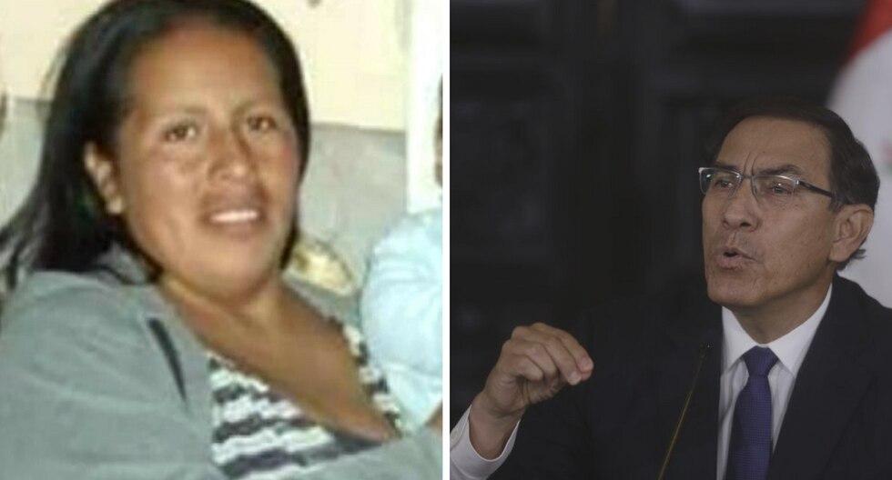 Juanita Mendoza y Martín Vizcarra