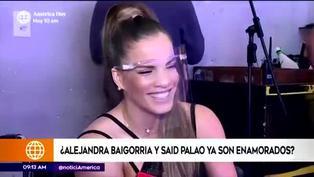"""Alejandra Baigorria sobre Said Palao:""""Me encanta que lo miren, pero es mío"""""""