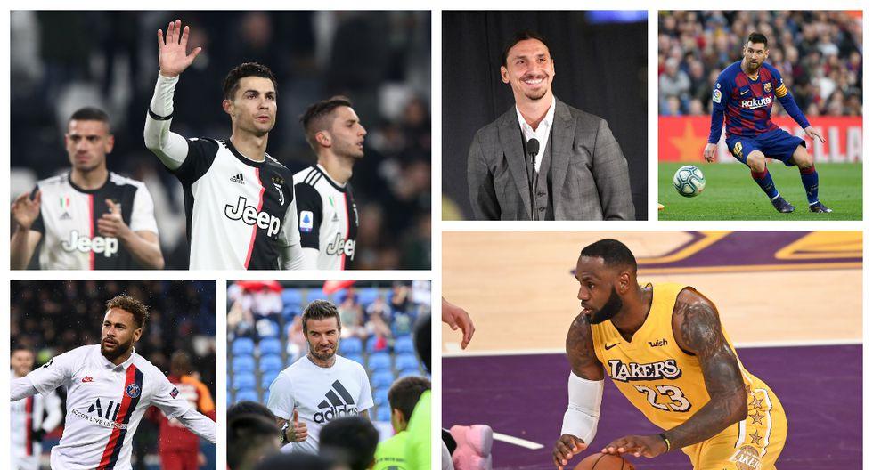 Estos son los personajes ligados al deporte que más dinero generan en Instagram.(Fotos: AFP)