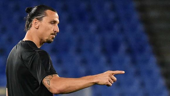 Zlatan Ibrahimovic descartó el retiro mediante un video publicado en Instagram. (Foto: AFP)