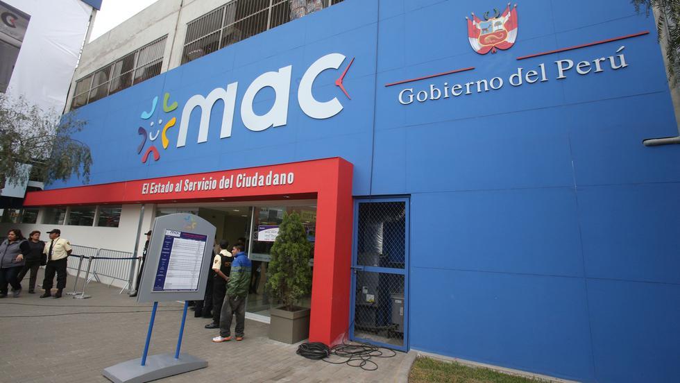 Oficinas dan diversos servicios al ciudadano.