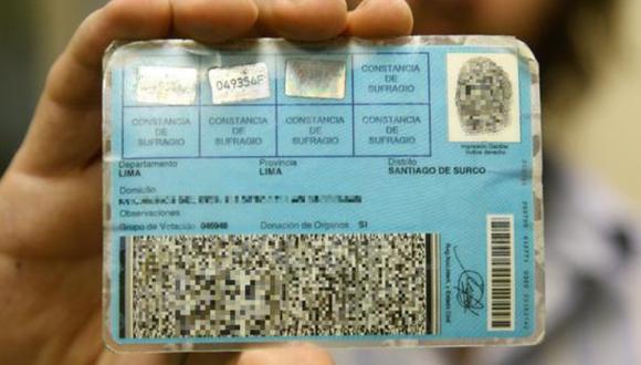 La vigencia de los documentos de identidad vencidos se ampliaron hasta el 30 de junio, por lo tanto no es necesario renovarlos para ir a votar el próximo domingo 6 de junio (Foto: Archivo)
