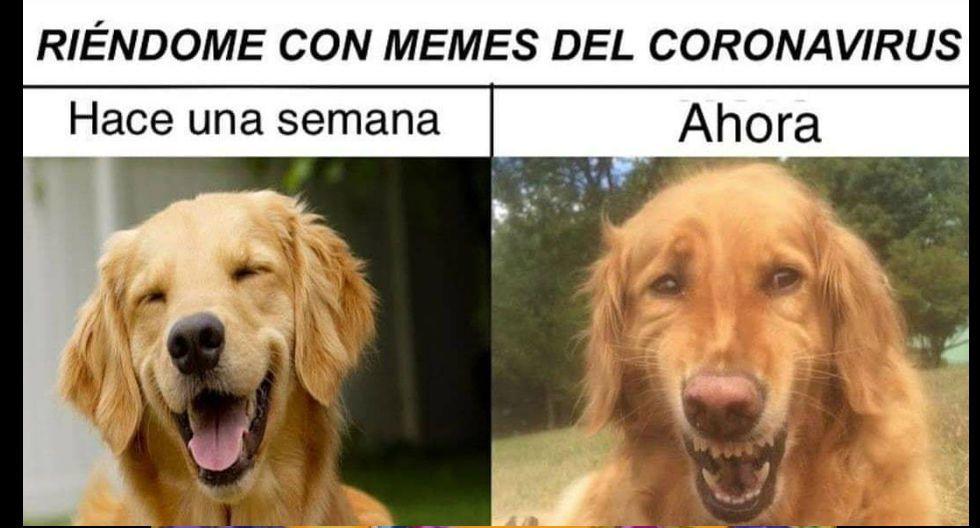 Cinernautas lanzaron sus primeros memes tras el Estado de Emergencia por el coronavirus. (Redes sociales)