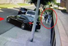 Surco: Asaltantes vestidos con traje de bioseguridad asaltan joven médico veterinaria usando auto de alta gama robado