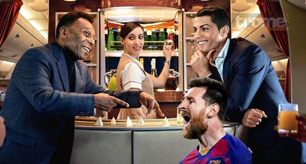 Pele escogió a Cristiano Ronaldo por encima de Lionel Messi como el mejor del mundo