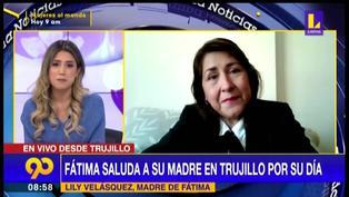 Conductora de Latina se conmueve EN VIVO tras recibir sorpresa de su mamá