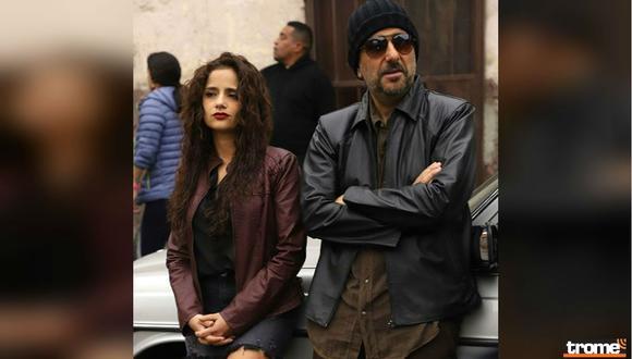 Melania Urbina y Giovanni Ciccia en la tercera película de Django. Foto: Composición de Trome con imagen de Instagram