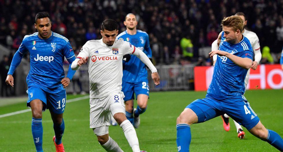 Juventus - Lyon: Goles, resumen y resultado del partido por Champions League