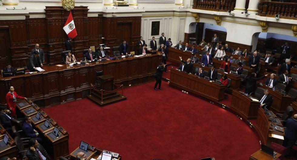El Congreso de la República. (Foto: Hugo Pérez / GEC)