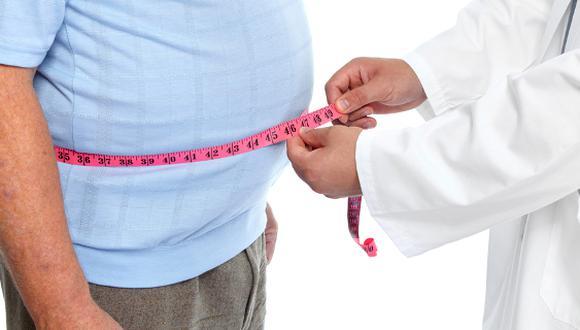 La obesidad es una enfermedad que sufren gran cantidad de peruanos.