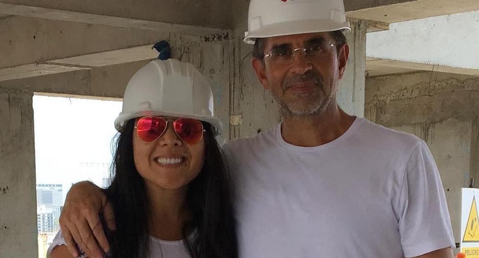 Tula Rodríguez celebra aniversario con Javier Carmona (Foto: Instagram @tulaperu)