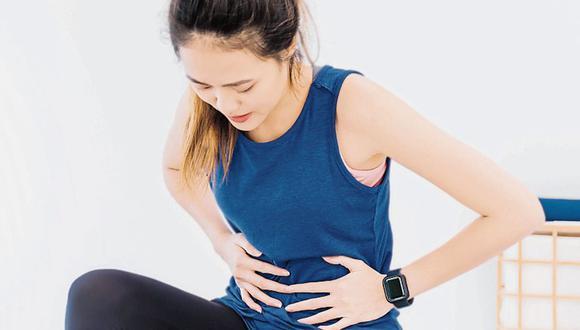 Si sientes mucho dolor e incomidad es preferible evitar los ejercicios durante la menstruación