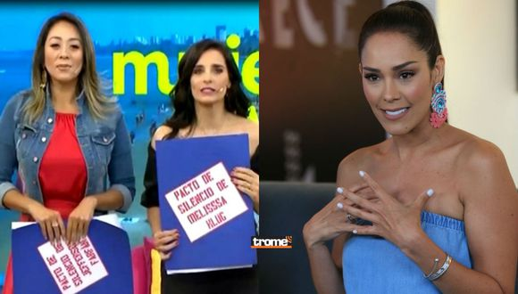 Karen Schwarz no se presentó hoy en el programa y fue reemplazada por Laura Borlini, tras escándalo por críticas a Anahí de Cárdenas | TROME