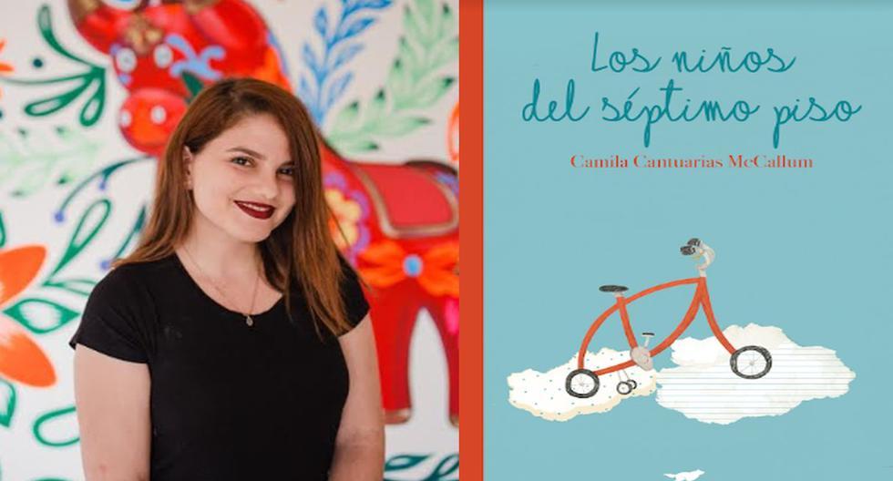 La escritora Camila Canturias publica 'Los niños del séptimo piso', crónicas sobre seis niños que día a día luchan contra el cáncer. (Fotos: Difusión)