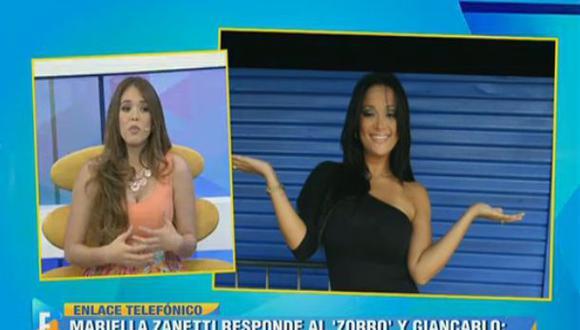 Mariella Zanetti llamó a 'Espectáculos' y arremetió contra todos por vinculación con Jefferson Farfán. (Imagen: Latina)