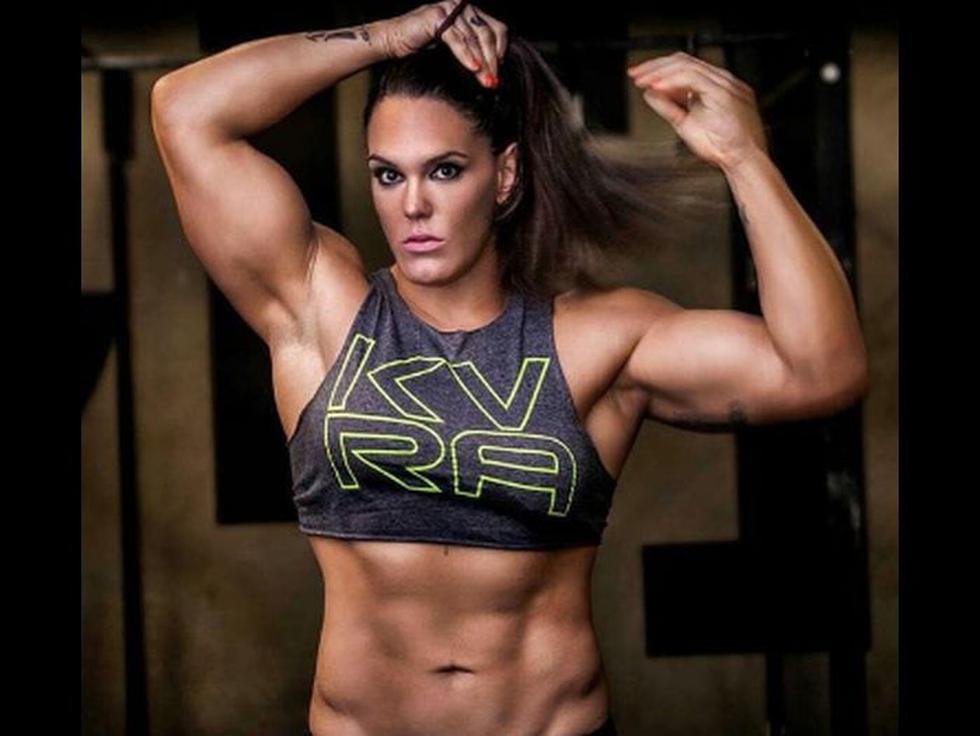 Gabrielle García, la luchadora más grande de la MMA.