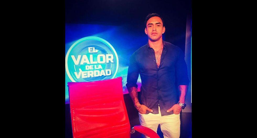 Diego Chávarri se sentará en el sillón rojo en la nueva edición de El Valor de la Verdad. Foto: Twitter / Beto Ortiz