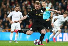 De Bruyne sentenció el Real Madrid vs Manchester City con GOL de penal por Champions League | VIDEO