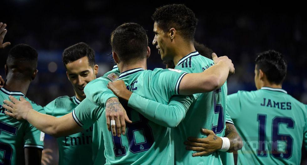 Real Madrid  vs Zaragoza en vivo