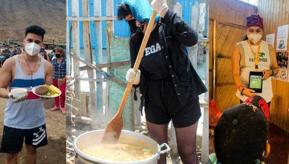 Proyecto social realiza ollas comunes veganas en asentamientos humanos de Lima Norte.