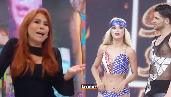 Magaly Medina se burla de Andrea Luna por criticar programas de espectáculos cuando inició en la farándula