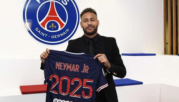 Neymar llegó a PSG en la temporada 207/2018 procedente de Barcelona. (Foto: PSG)