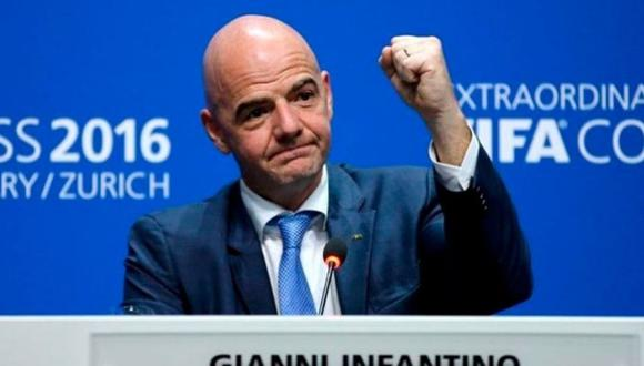 Gianni Infantino descarta interés de promover Superliga en Europa.
