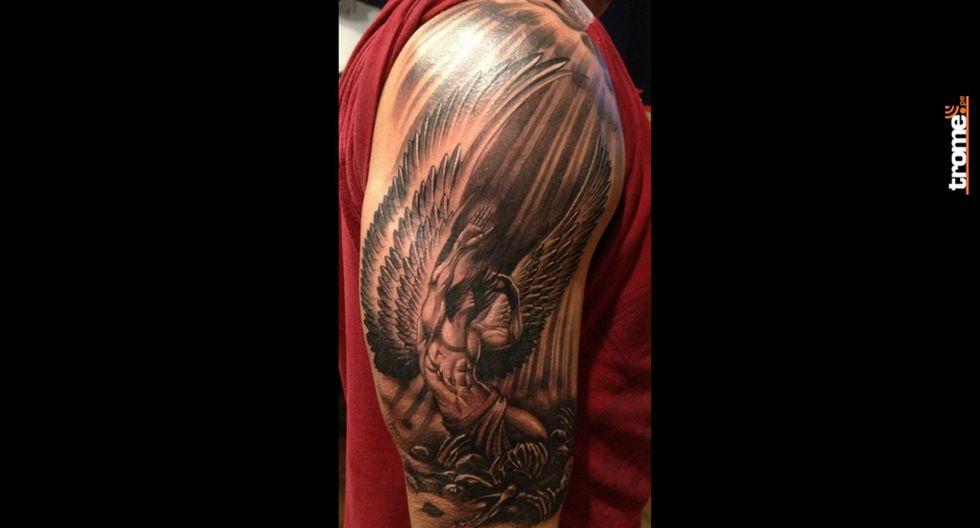 Tatuajes para hombres: muchos buscan un signficado para sus diseños, esta vez te presentamos unos de ángeles y su explicación.