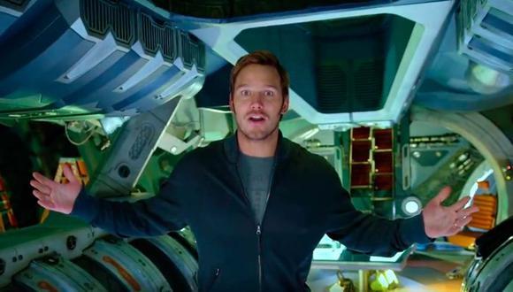 Chris Pratt, protagonista de Guardianes de la Galaxia.
